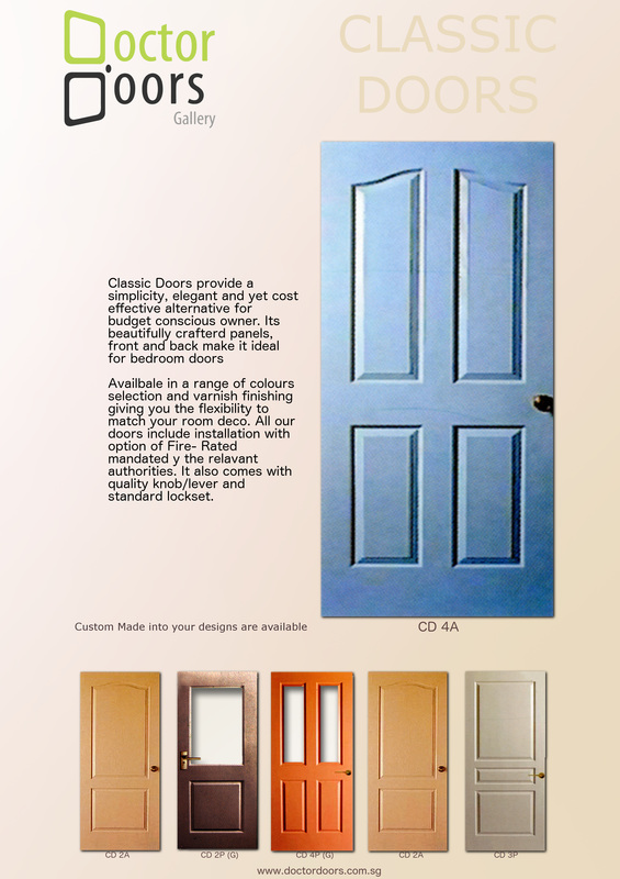 High Quality 3 Types Of Doors