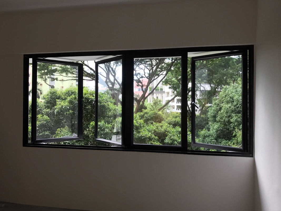 Aluminium Windows Amp Grilles Doctor Doors Decor Pte Ltd